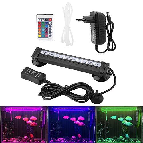 Light Sommergibile Wasserbad Bubble Light mit Fernbedienung Subacqueo LED Farbig für Aquarium Kit Aquarium ()