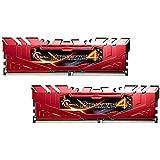 G. Skill Ripjaws 4Serie F4–2800C16d-16grr DDR42800MHz 16GB Arbeitsspeicher-Kit–Rot