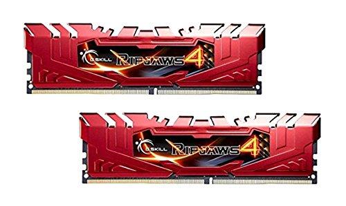 Ungepuffert-system (GSkill Ripjaws 4Serie F4-2800C16d-8grr DDR42800MHz 8GB KIT-rot)