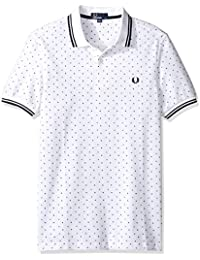 polos fred perry m1570 blanc