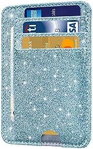Santo Front Pocket Minimalist Leather with RFID Blocking Slim Card Holder Wallet for Men & W