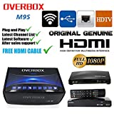 OVERBOX M9S Digital Freesat PVR Satellite TV Set Top Box Full HD 1080p (Replacing similar boxed in market )