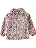 Name it Mädchen Windjacke Regenjacke Übergangsjacke NITMELLO FLOWER 13139951 bright white Gr.140