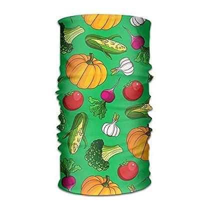 FAFANIQ Green Vegetables Unisex Colored Headban...