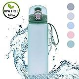 KAILH Tritan Botella del Agua Deporte 500ml/600ml/700/900ml, sin BPA, Botella...