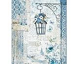 Carta Di Riso Lampada Con Fiori, Stamperia, A4, Decoupage Carte Di Riso, Hobby, Colori