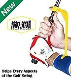 Swing Guide Trainer - Accessoire d'Aide à l'entrainement et d'échauffement - Outil de correction pour améliorer toutes les positions du Swing et ajuster les poignets de manière simple et efficace...