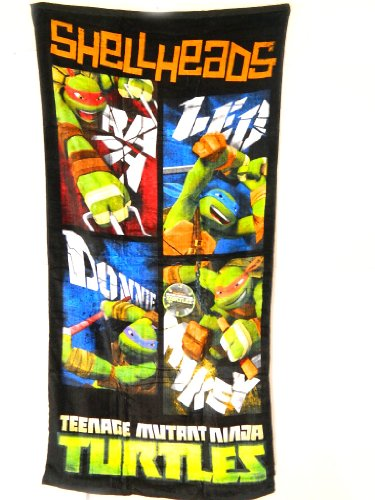 Price comparison product image Teenage Mutant Ninja Turtles Shellheads Beach Towel