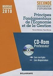Principes fondamentaux de l'économie et de la Gestion 2e enseignement d'exploration (1Cédérom)