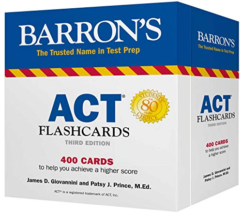 ACT Flashcards (Barron's Test Prep) - Barron Act-test