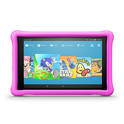 "All-New Fire HD 10 Kids Edition Tablet, 10.1"" 1080p Full HD Display, 32 GB, Pink Kid-Proof Case Best Price and Cheapest"