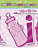 Unique Party Supplies It 's a Girl Baby Dusche Jointed Banner