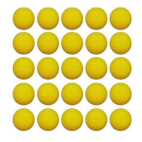 OULII Dardos de repuesto para Nerf Rival Zeus Apolo MXV-1200 XV 700 Blaster, paquete de 50 (amarillo)