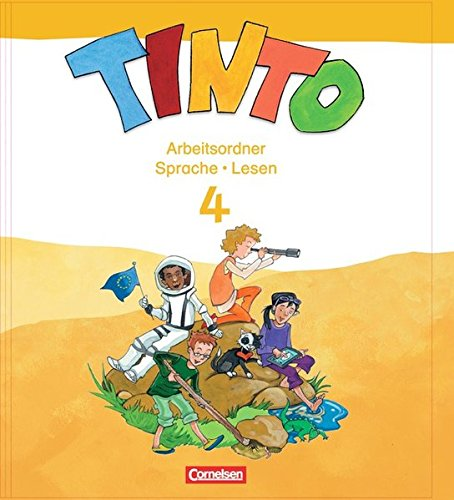 TINTO 2-4 - Sprachlesebuch 3-4 - Neubearbeitung: 4. Schuljahr - Arbeitsordner Sprache und Lesen