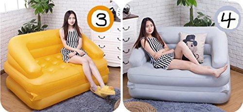 Dszll divano letto gonfiabile matrimoniale pigro divano cuscino divano sedie per uso domestico, 3