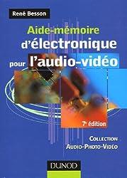 Aide-mémoire d'électronique pour l'audio-vidéo