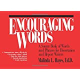 Encouraging Words: A Source Book of Words and Phrases for Dissertation and Report Writers