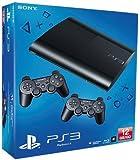Console PS3 Ultra slim 12 Go noire (2 manettes)