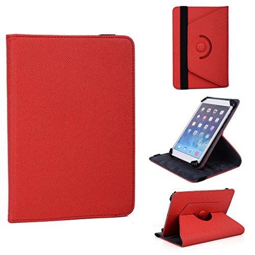 Kroo 360Degree Accord Series-Custodia con supporto per Amazon Kindle Fire HDX 7 rosso (Accord Computer)
