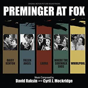 Preminger At Fox: Including Fallen Angel, Where The Sidewalk Ends, Laura,Daisy Kenyon and Whirlpool