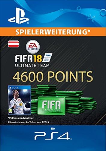 FIFA 18 Ultimate Team - 4600 FIFA Points | PS4 Download Code - österreichisches Konto