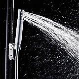 Lonior Duschbrause Wassersparend Duschkopf Chrome Brausekopf 2 Funktionen Handbrause mit 1.5m Schlauch