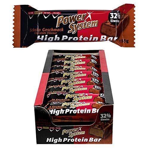 Power System High Protein Bar, Schoko (24 x 35 g)