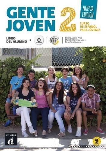 Gente Joven 2 Ne Libro del Alumno con Cd