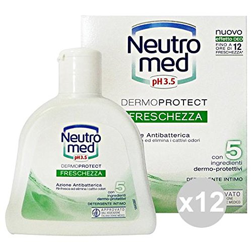 Set of 12 Neutromed Soap Underwear Freshness 200 ml. Soaps And Cosmetics