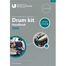LCM Drum Kit Handbook 2009 Grades 7 And 8. Partituras, CD para Batería