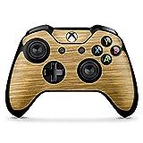 DeinDesign Microsoft Xbox One X Controller Folie Skin Sticker aus Vinyl-Folie Aufkleber Holz Look Eichenholz Maserung