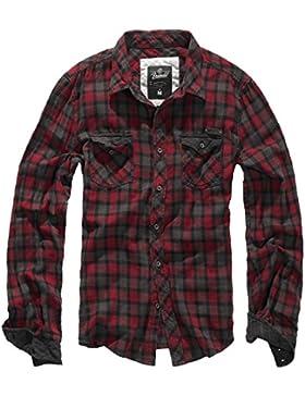 Brandit Duncan Camisa marrón/negro