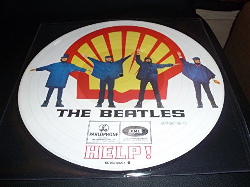 33T.THE BEATLES..HELP.PICTURE DISC.PRESSAGE HOLLANDAIS [Edition Spéciale Limitée] - Cd Beatles Help