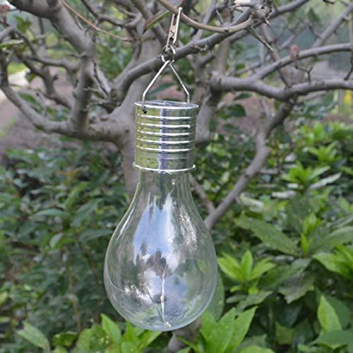 Wasserdichte Solar Glühbirne Drehbare Outdoor Garten Camping Hängen 5 LED Beleuchtung Umweltfreundliche Solar Lampe -