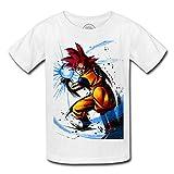 T-shirt enfant dragon ball super goku go kamehame