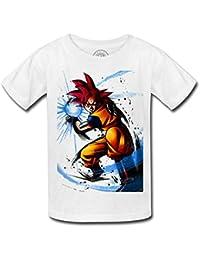 Camiseta nino Super Dragon Ball Goku ir Kamehame