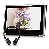NAVISKAUTO 10,1 DVD Player Kopfstütze Monitor 1024*600 Touch-Taste HDMI Funktion IR Köpfhörer CH1007B+Y0101S