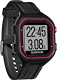 Garmin Forerunner 25 GPS Running Watch - Large, Black/Red