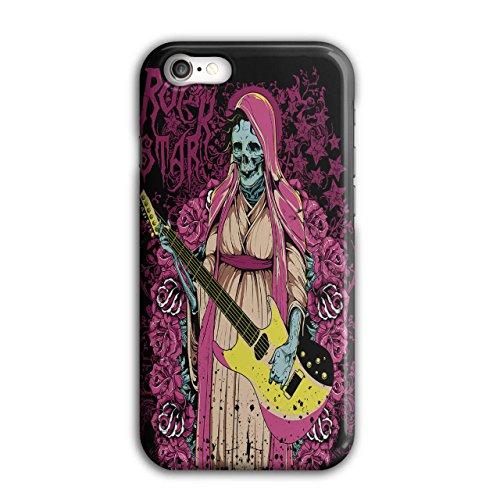 Rock Star Zombie Musik Gebeine Schlagen iPhone 8 Hülle | Wellcoda (Rock Star Zombie)