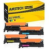 4 Pack Amstech Kompatibel für Samsung C480W CLT-K404S CLT-C404S CLT-M404S CLT-Y404S CLT-404S 404S CLT-P404C Tonerkartusche für Samsung C480FW Toner C480 C480FN Toner Samsung Xpress C430W C430 SL-C480W 480W C 480 SL-C430W SL-C480fw/teg Schwarz
