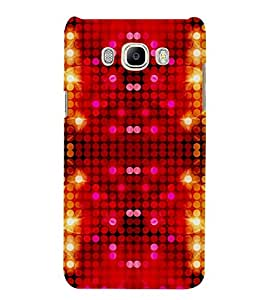 Takkloo abstract pattern ( doted pattern, trendy pattern, colourful pattern) Printed Designer Back Case Cover for Samsung Galaxy On8 Sm-J710Fn/Df
