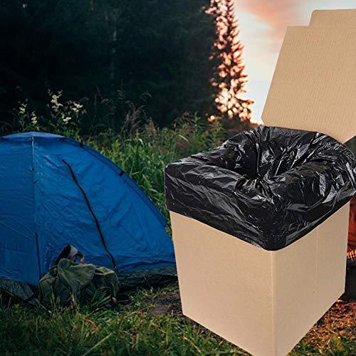 learnarmy tragbare faltbare Toilette fürs Auto - die perfekte Notfall-Toilette, tragbare Outdoor-Reise, Notfall-WC, zusammenklappbar, passt in Ihren Rucksack, stark, langlebig, Camping, mehr Impart