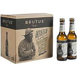 Brutus Cerveza - Paquete de 12 x 330 ml - Total: 3960 ml