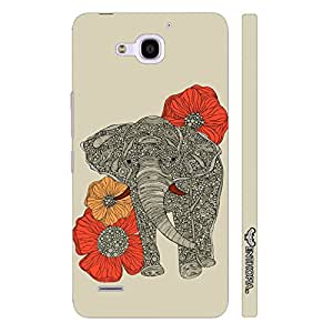 Enthopia Designer Hardshell Case Flora Giant Back Cover for Huawei Honor 3X