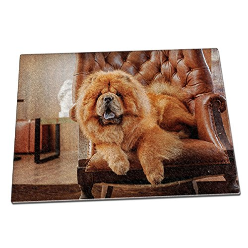 chow-chow-dog-animal-glass-chopping-board-085