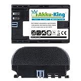 Akku-King Akku für Canon EOS 5D Mark II, 5D Mark III, 5D Mark IV, 5DS, 5DS R, 6D, 7D, 7D Mark II, 60D, 60Da, 70D, 80D - ersetzt LP-E6, LP-E6N - Li-Ion 2000mAh