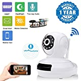 #6: Captcha Apple Iphone 7 Plus Compatible Certified Wireless Full Hd 1080P Ip Wifi Cctv Indoor Security Camera (Support Upto 128 Gb Sd Card, One Year Warranty)