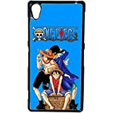 AUX Prix Canons – Funda con carcasa Sabo Luffy Ace One Piece Sony Xperia M4