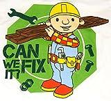 "Bob the Builder T-shirt ""Can we fix it?"""