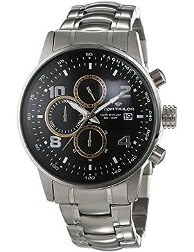 TOM TAILOR Herren-Armbanduhr Chronograph Quarz Edelstahl 5414001